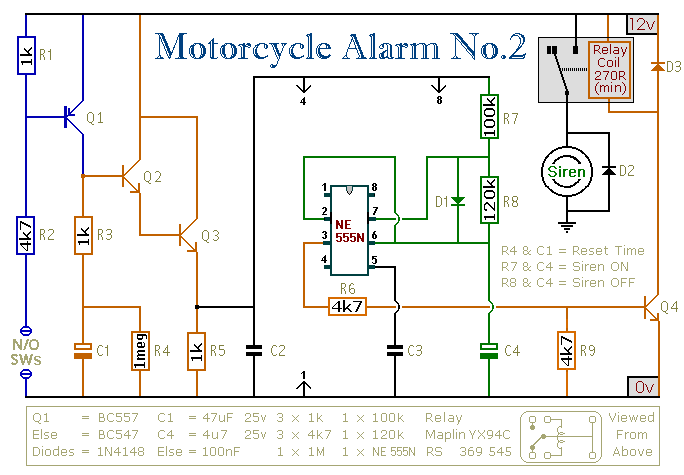 按键控制灯电路图