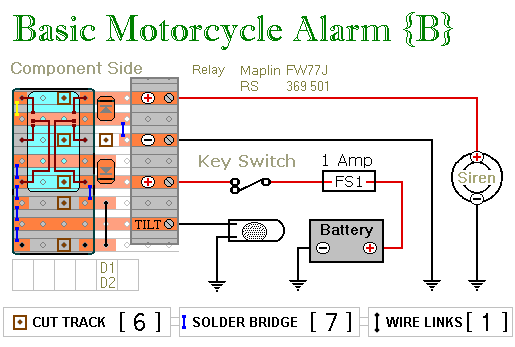 摩托车报警器的电路设计